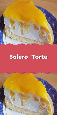Solero Torte Ingredients 2 egg (s) 75 g icing sugar 75 g cornstarch pck. Tin / peach (s) 2 pck. Whipped cream à 200 … Peanut Butter Dessert Recipes, Dessert Recipes For Kids, Quick Easy Desserts, Kid Desserts, Easy Donut Recipe, Donut Recipes, Easy Cake Recipes, Dessert Halloween, Homemade Donuts