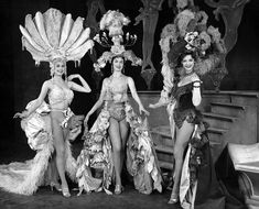 I want to put Carlotta, Stella, and Margie in something like these for Live Laugh, Love and see if I could find an orchestrator who could beef up their songs in the finale. Ziegfeld Follies Stage Show early Peter And The Starcatcher, Ziegfeld Girls, Ziegfeld Follies, Burlesque Show, Human Poses Reference, Hollywood Costume, Black Costume, Stage Show, Theatre Costumes