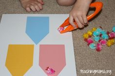 Fine Motor Activity with Chicks