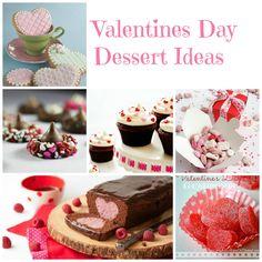 Valentine's Day Dessert Ideas #Valentines