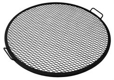 Outdoor Classics Fire Pit Cooking Grill.  With several sizes offered, this metal mesh cooking grate is a simple and efficient way to grill food on your fire pit.