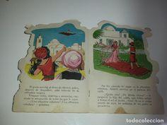 Libros de segunda mano: ANTIGUO CUENTO TROQUELADO - EL LADRON DE BAGDAD - CUENTOS TORAY - DIBUJOS MARIA PASCUAL AÑO 1967 - Foto 11 - 63886887