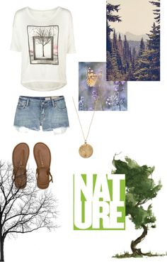 """""""Tree Nymph (Percy Jackson) Inspired Outfit"""" by mkitten999 on Polyvore"""