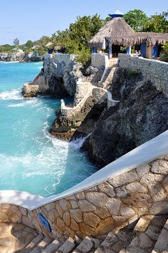The Caves Resort in Negril, Jamaica (by sonya ina) It is really as beautiful as it looks here! Ready to go back!