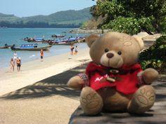 Djole na plazi Ao-Nang, Tajland
