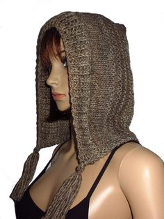 Women, Style, Fashion, Knitting And Crocheting, Cowl, Get Tan, Hair Makeup, Swag, Moda