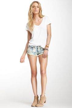 Bobby Denim Cutoff Short