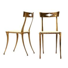 Pair of Palladio Side Chairs for Wyeth Home inspired by the @House Beautiful magazine apartment