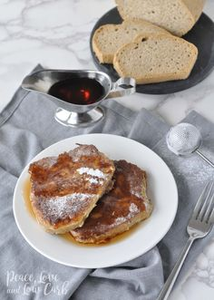 Low Carb Pancakes, French Toast and Jam, OH MY!