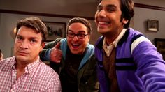 The big bang theory and Nathan Fillion
