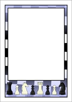 Chess Page Borders Paper Journal, Journal Cards, Cool Minecraft Houses, Minecraft Buildings, Chess Books, Boarders And Frames, Scrapbook Frames, Page Borders, Frame Background