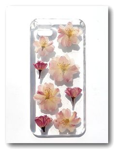 Handmade iPhone 5 case Resin with Real flower by Annysworkshop, $18.00