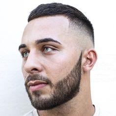 Full, Short Beard