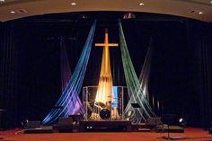 church stage fabric | Kriss Kross | Church Stage Design Ideas