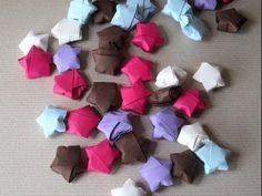Comment faire de minuscules étoiles de papier pour décorer! - Décorations - Trucs et Bricolages