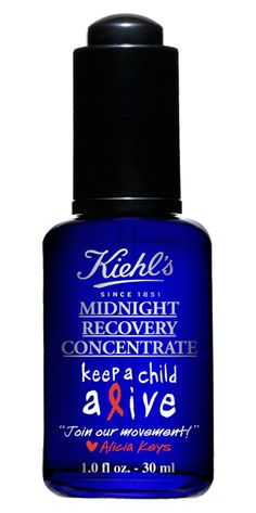 #AliciaKeys and #Kiehls Partner to Keep a Child Alive #campaign #kids #Aids