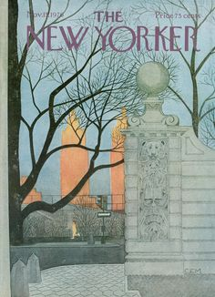 The New Yorker - Monday, November 15, 1976 - Issue # 2700 - Vol. 52 - N° 39 - Cover by : Eugène Mihaesco