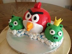 The angry birds and friends