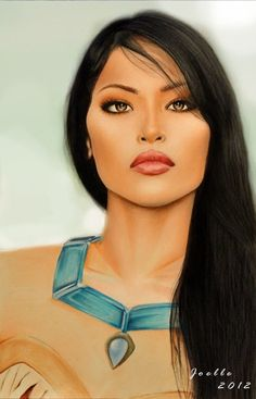 I honestly just noticed how pretty Pocahontas is....And this is really good...