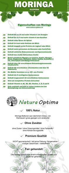 Eigenschaften von Moringa Blattpulver Superfood, Gold, Moringa Oleifera, Foods, Simple, Yellow
