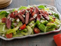 BLT Steak Salad from CookingChannelTV.com