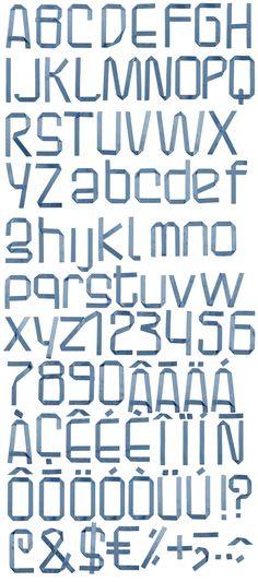 decoration #ribbon #font #alphabet