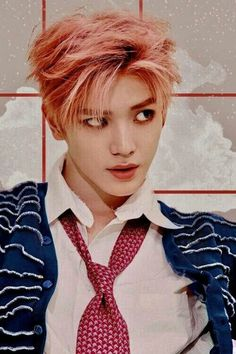 Taeyong NCT Most Famous And New Wallpaper And Photo Collection Lee Taeyong, Red Aesthetic, Kpop Aesthetic, Pink Hair, Red Hair, A C E Kpop, Ntc Dream, Boy Photography Poses, Manish