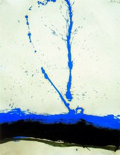 Robert Motherwell, I Beside the Sea ** 1962 on ArtStack #robert-motherwell #art