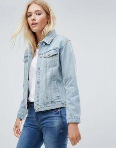 #ASOS - #Blend She Blend She Lola Denim Jacket - Blue - AdoreWe.com