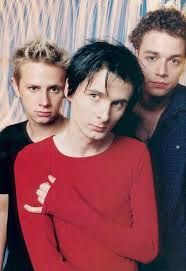 MUSE Band (Matt, Dom & Chris) aww they are so young in this picture!!