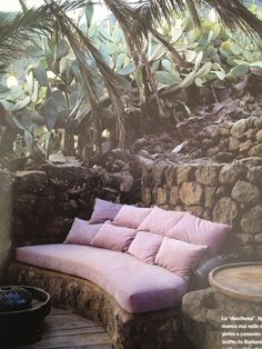stone sofà