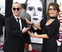 ahahahahaha i do adore them so. Hollywood California, In Hollywood, Joel Grey, Jennifer Grey, Bollywood Pictures, Cast Member, Opening Night, 40th Anniversary, Music Tv