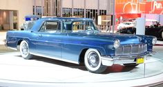 Elizabeth Taylor 1956 Lincoln Continental Mark II at 2012 L A Auto Show
