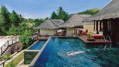 Se bilder från vårt hotell Constance Lémuria Resort i Praslin Seychelles Africa, Praslin Seychelles, Seychelles Islands, Holiday Destinations, Travel Destinations, Seychelles Holidays, Hotel Safe, Unique Hotels, Princess Cruises