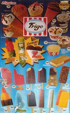 Así inventamos el Frigo pie, el Drácula, el Calippo y el Twister   Verne EL PAÍS Childhood Toys, Childhood Memories, Vintage Dolls, Retro Vintage, 80s Candy, Old Posters, Mini Milk, Ice Cream Van, Retro Images