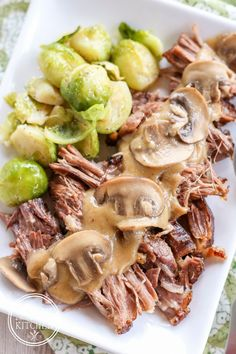 Low Carb {Pressure Cooker} Pork Roast Recipe with Cauliflower Gravy plus 24 more Paleo Instant Pot recipes