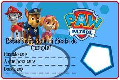 Patrulla Canina Imagen Cumpleaños Imprimir Fiesta