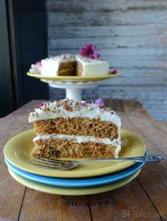 Gluten Free Carrot Cake vertical