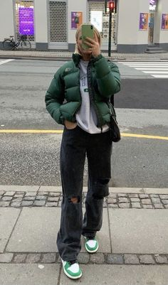 Retro Outfits, Cute Casual Outfits, Winter Outfits, Vintage Outfits, Teen Fashion Outfits, Stylish Outfits, Looks Street Style, Looks Style, Looks Hip Hop