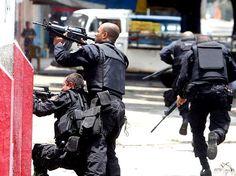 BOPE gunfight with drugs dealer.
