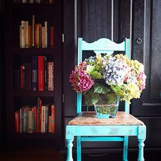 See Before-and-After Chair Makeovers From HGTV Fans >> http://blog.hgtv.com/design/2015/05/18/hgtvmakeover-diy-chairs-from-readers/?soc=pinterest