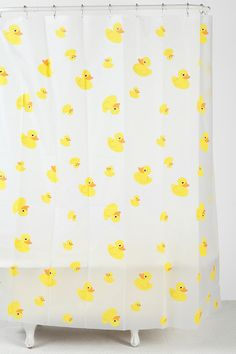 Rubber Ducky Shower Curtain