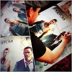 Signed a few White House Down posters for you guys. For a chance to win, head to Twitter and RETWEET THIS ====>>> https://twitter.com/channingtatum/status/351429921618411520