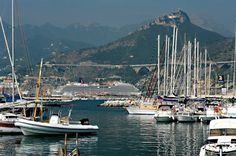 BUONGIORNO ! The Carnival Breeze is in Salerno today (9/11/12). Click for a closer look...