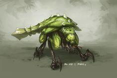 Monster No. 012 by Onehundred-Monsters on deviantART