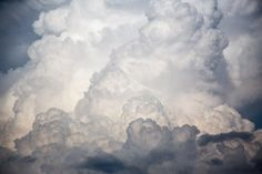 big clouds storm Washable Wall Mural