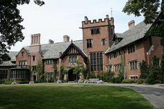 Stan Hywet Hall by FitchDnld, via Flickr. Here's one I've actually visited!
