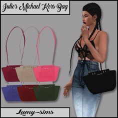 Sims 4 CC's - The Best: Julie's Michael Kors Bag by LumySims