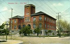 Pre 1906 Alameda City Hall, CaliforniaPostcards Page 4