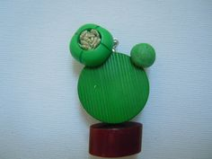 Spille - Cactus Cucciolo spilla.ciondolo.calamita - un prodotto unico di…